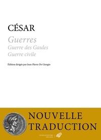 Jules César et Jean-Pierre De Giorgio - Guerres - Guerre des Gaules Guerre civile.