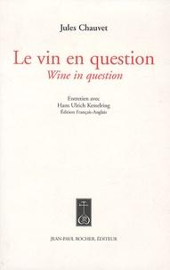 Openwetlab.it Le vin en question - Edition bilingue français-anglais Image