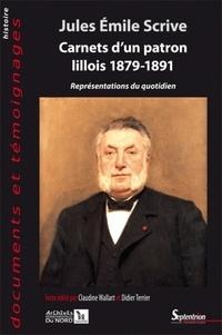 Histoiresdenlire.be Carnets d'un patron lillois 1879-1891 - Représentations du quotidien Image