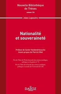 Jules Lepoutre - Nationalité et souveraineté.