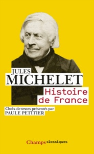 Jules Michelet - Histoire de France.