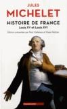 Jules Michelet - Histoire de France - Tome 17, Louis XV et Louis XVI.