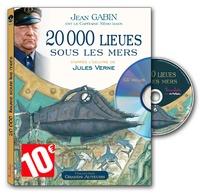 Jules Verne et Jean Gabin - 20 000 lieues sous les mers. 1 CD audio