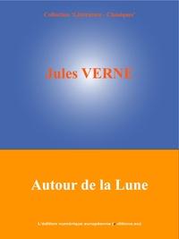 Jules Verne et  L'Edition Numérique Européenne - Autour de la Lune.