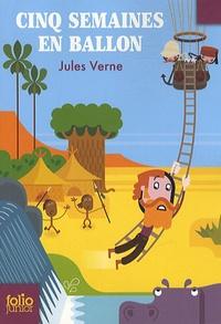 Cinq semaines en ballon - Jules Verne pdf epub