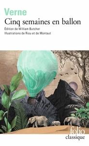Téléchargez le livre sur ipod Cinq semaines en ballon par Jules Verne DJVU PDF PDB 9782072722189
