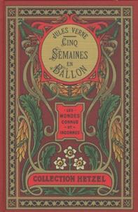Jules Verne - Cinq semaines en ballon - Voyage de découvertes en Afrique par trois Anglais.