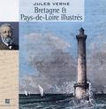 Jules Verne - Géographie illustrée de la France - Bretagne et Pays-de-Loire illustrés.