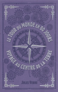 Jules Verne - Le Tour du monde en 80 jours ; Voyage au centre de la Terre.