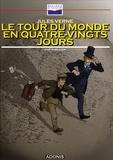 Jules Verne - Le tour du monde en quatre-vingts ajours. 1 CD audio