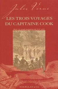 Jules Verne - Les trois voyages du capitaine Cook.