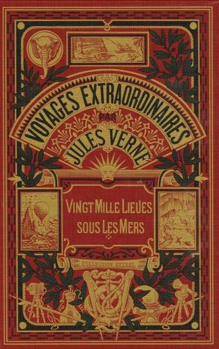 Jules Verne - Vingt mille lieues sous les mers - Tome 2.