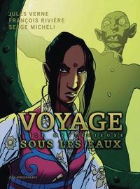 Jules Verne et François Rivière - Voyage sous les eaux Tome 2 : L'île mystérieuse.