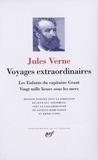 Jules Verne - Voyages extraordinaires - Les enfants du capitaine Grant ; Vingt mille lieues sous les mers.