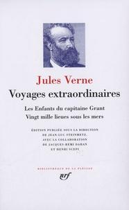 Voyages extraordinaires- Les enfants du capitaine Grant ; Vingt mille lieues sous les mers - Jules Verne | Showmesound.org