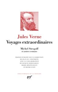 Jules Verne - Voyages extraordinaires - Le tour du monde en quatre-vingts jours ; Michel Strogoff ; Les tribulations d'un Chinois en Chine ; Le château des Carpathes.