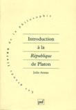 """Julia Annas - Introduction à la """"République"""" de Platon."""