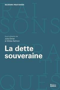Julia Christ et Gildas Salmon - La dette souveraine - Economie politique et l'Etat.
