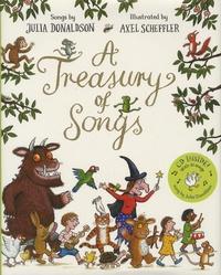 Julia Donaldson et Axel Scheffler - A Treasury of Songs. 1 CD audio