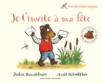 Julia Donaldson et Axel Scheffler - Je t'invite à ma fête.
