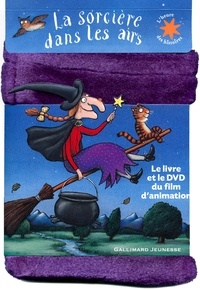 Deedr.fr La sorcière dans les airs - Le livre et le DVD du film d'animation Image