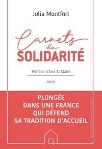 Julia Montfort - Carnets de solidarité.