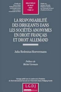 Corridashivernales.be La responsabilité des dirigeants dans les sociétés anonymes en droit français et droit allemand Image
