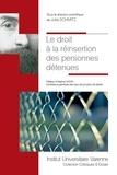 Julia Schmitz - Le droit à la réinsertion des personnes détenues.