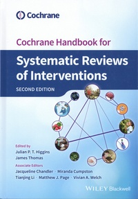 Julian P.T. Higgins et James D. Thomas - Cochrane Handbook for Systematic Reviews of Interventions.