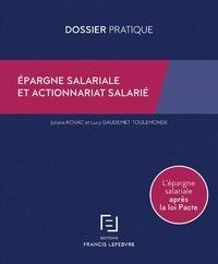 Juliana Kovac et Lucy Gaudemet-Toulemonde - Epargne salariale et actionnariat salarié.