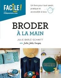 Julie Barlé-Schmitt - Broder à la main.
