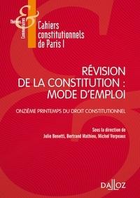 Corridashivernales.be Révision de la constitution : mode d'emploi - Onzième printemps du droit constitutionnel Image
