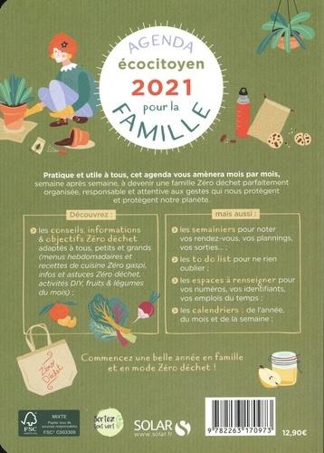 Agenda écocitoyen pour la famille. Septembre 2020 à décembre 2021  Edition 2021