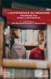 Julie Bidi et Sarah Petrovitch - L'expérience du mémoire - Premiers pas dans la recherche.