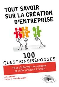 Julie Brunet - Tout savoir sur la création d'entreprise.