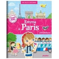 Livre audio à télécharger illimité Emma à Paris  - Ma ville à décorer iBook