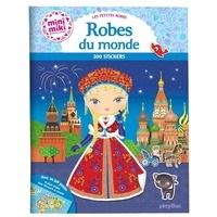 Julie Camel - Les petites robes - Robes du monde - 300 stickers.