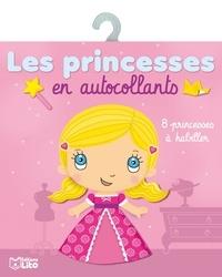 Julie Camel - Les princesses en autocollants - 8 princesses à habiller.