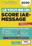 Julie Camoin et Dominique Dumas - Le tout-en-un Score IAE-Message.