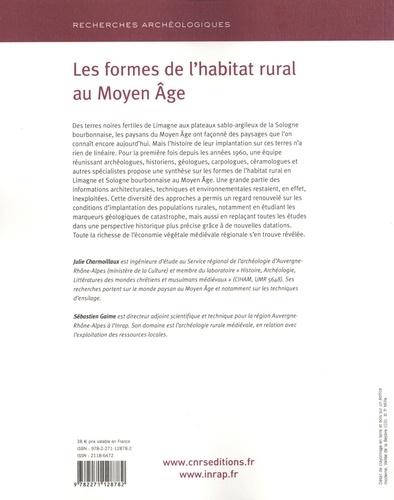 Les formes de l'habitat rural en Auvergne au Moyen Age en Limagne septentrionale et Sologne bourbonnaise