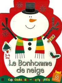 Julie Clough - Le Bonhomme de neige - Coloriages et activités, 3-4 ans.
