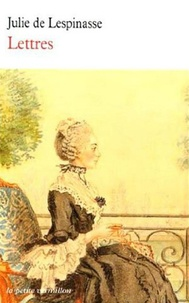 Julie de Lespinasse - Lettres.