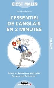 Julie Frédérique - L'essentiel de l'anglais en 2 minutes.