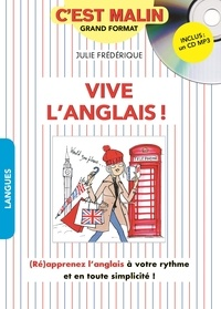 Julie Frédérique - Vive l'anglais !. 1 CD audio MP3