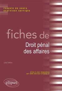 Fiches de droit pénal des affaires - Rappels de cours et exercices corrigés.pdf