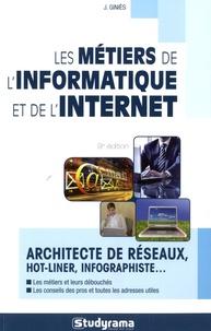 Julie Giniès - Les métiers de l'informatique et de l'internet.