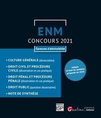 Julie Haberman - Concours ENM - Epreuves d'admissibilité.