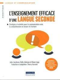 L'enseignement efficace d'une langue seconde- Stratégies et activités pour la communication orale, la compréhension en lecture et l'écriture - Julie Jacobson   Showmesound.org
