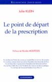 Julie Klein - Le point de départ de la prescription.