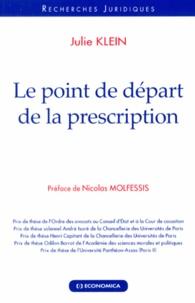 Le point de départ de la prescription.pdf